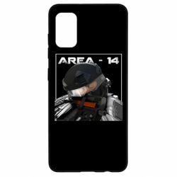 Чехол для Samsung A41 Area-14