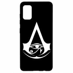 Чохол для Samsung A41 Assassin's Creed Origins logo