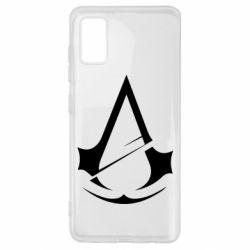 Чохол для Samsung A41 Assassins Creed Logo