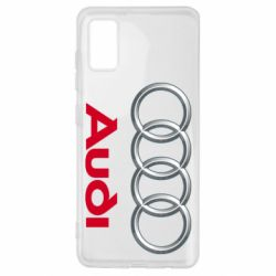 Чохол для Samsung A41 Audi 3D Logo