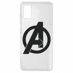 Чохол для Samsung A41 Avengers logo