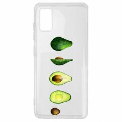 Чехол для Samsung A41 Avocado set