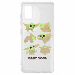Чехол для Samsung A41 Baby Yoga