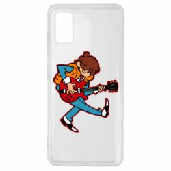 Чехол для Samsung A41 Back to the Future Marty McFly