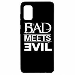 Чехол для Samsung A41 Bad Meets Evil