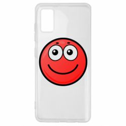 Чохол для Samsung A41 Ball with smile