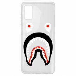 Чехол для Samsung A41 Bape shark logo