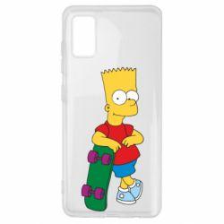 Чохол для Samsung A41 Bart Simpson