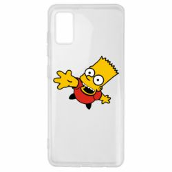 Чехол для Samsung A41 Барт Симпсон