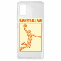 Чохол для Samsung A41 Basketball fan