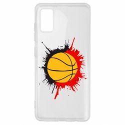 Чехол для Samsung A41 Баскетбольный мяч