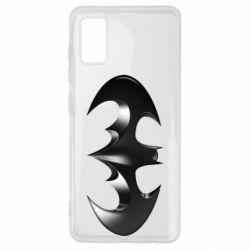 "Чехол для Samsung A41 Batman ""3d Logo"""