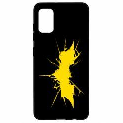Чохол для Samsung A41 Batman cracks