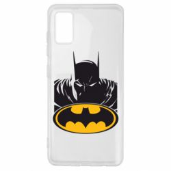 Чехол для Samsung A41 Batman face