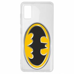 Чехол для Samsung A41 Batman Gold Logo