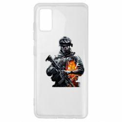 Чехол для Samsung A41 Battlefield Warrior