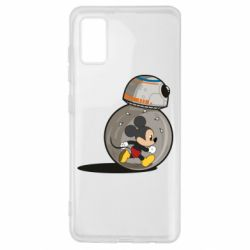 Чохол для Samsung A41 BB-8 and Mickey Mouse