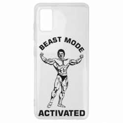 Чехол для Samsung A41 Beast mode activated