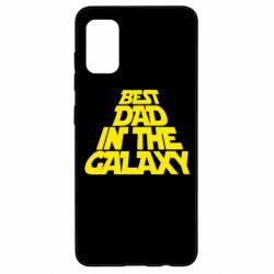 Чехол для Samsung A41 Best dad in the galaxy