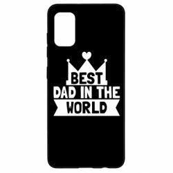 Чехол для Samsung A41 Best dad in the world