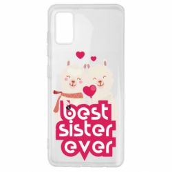 Чохол для Samsung A41 Best sister ever