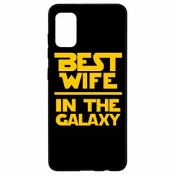 Чохол для Samsung A41 Best wife in the Galaxy