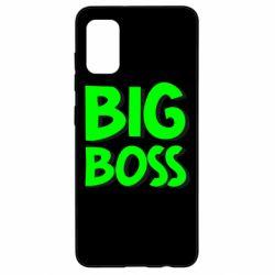 Чехол для Samsung A41 Big Boss