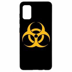 Чехол для Samsung A41 biohazard