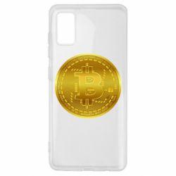Чохол для Samsung A41 Bitcoin coin