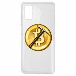 Чохол для Samsung A41 Bitcoin Hammer