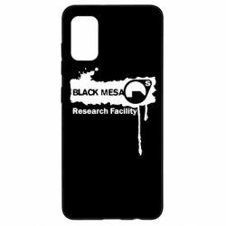 Чехол для Samsung A41 Black Mesa