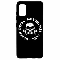 Чехол для Samsung A41 Black Rebel Motorcycle Club