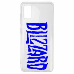 Чохол для Samsung A41 Blizzard Logo