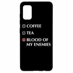 Чохол для Samsung A41 Blood of my enemies
