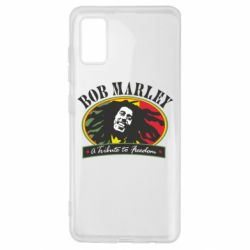 Чехол для Samsung A41 Bob Marley A Tribute To Freedom