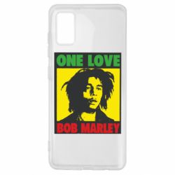Чехол для Samsung A41 Bob Marley One Love