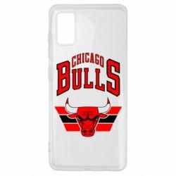 Чохол для Samsung A41 Великий логотип Chicago Bulls