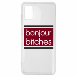 Чехол для Samsung A41 Bonjour bitches