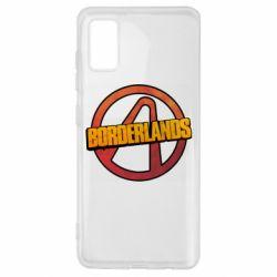 Чехол для Samsung A41 Borderlands logotype