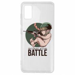 Чехол для Samsung A41 Born For Battle
