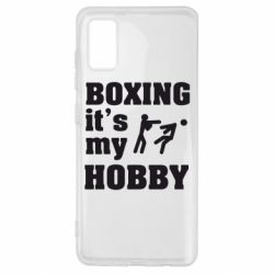 Чохол для Samsung A41 Boxing is my hobby