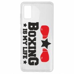 Чохол для Samsung A41 Boxing is my life
