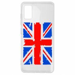 Чехол для Samsung A41 Британский флаг