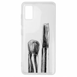 Чохол для Samsung A41 Brushes