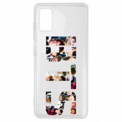 Чехол для Samsung A41 BTS collage
