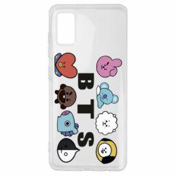 Чохол для Samsung A41 Bts emoji