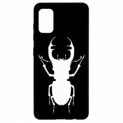Чехол для Samsung A41 Bugs silhouette