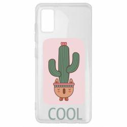 Чехол для Samsung A41 Cactus art