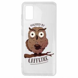 Чохол для Samsung A41 Caffeine Owl