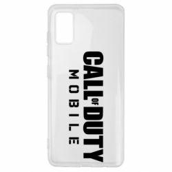 Чехол для Samsung A41 Call of Duty Mobile